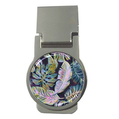 Pretty Leaves 2b Money Clips (round)  by MoreColorsinLife