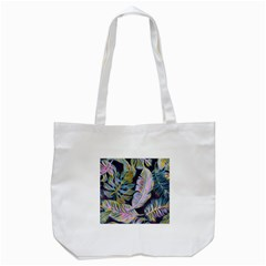Pretty Leaves 2b Tote Bag (white) by MoreColorsinLife
