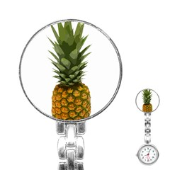 Pineapple Stainless Steel Nurses Watch by snowwhitegirl