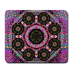 Decorative Candy With Soft Candle Light For Love Large Mousepads by pepitasart