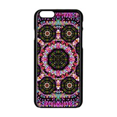 Decorative Candy With Soft Candle Light For Love Apple Iphone 6/6s Black Enamel Case by pepitasart