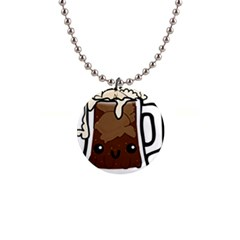 Kawaii Root Beer Float Button Necklaces by snowwhitegirl