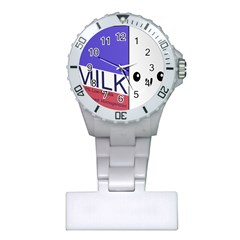 Kawaii Milk Plastic Nurses Watch by snowwhitegirl