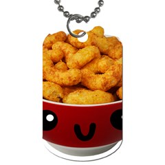 Kawaii Snacks Dog Tag (two Sides) by snowwhitegirl