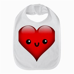 Kawaii Heart Bib by snowwhitegirl