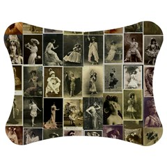 Victorian Ladies Jigsaw Puzzle Photo Stand (bow)