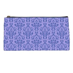 Victorian Blue Ornamental Pencil Cases by snowwhitegirl