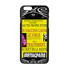 Ronald Story Vaccine Mrtacpans Apple Iphone 6/6s Black Enamel Case