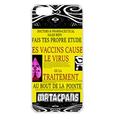 Ronald Story Vaccine Mrtacpans Apple Iphone 5 Seamless Case (white)