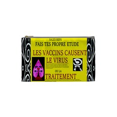 Ronald Story Vaccine Mrtacpans Cosmetic Bag (small)