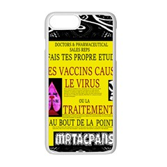 Ronald Story Vaccine Mrtacpans Apple Iphone 8 Plus Seamless Case (white)