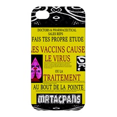 Ronald Story Vaccine Mrtacpans Apple Iphone 4/4s Hardshell Case
