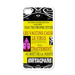 Ronald Story Vaccine Mrtacpans Apple Iphone 4 Case (white)