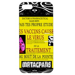 Ronald Story Vaccine Mrtacpans Apple Iphone 5 Hardshell Case With Stand