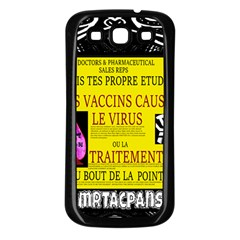 Ronald Story Vaccine Mrtacpans Samsung Galaxy S3 Back Case (black)