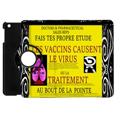 Ronald Story Vaccine Mrtacpans Apple Ipad Mini Flip 360 Case