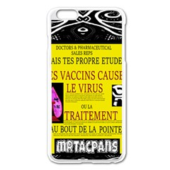 Ronald Story Vaccine Mrtacpans Apple Iphone 6 Plus/6s Plus Enamel White Case by MRTACPANS