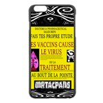 Ronald Story Vaccine Mrtacpans Apple iPhone 6 Plus/6S Plus Black Enamel Case Front