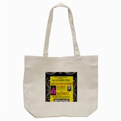 Ronald Story Vaccine Mrtacpans Tote Bag (cream) by MRTACPANS