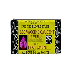 Ronald Story Vaccine Mrtacpans Cosmetic Bag (medium) by MRTACPANS