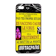 Ronald Story Vaccine Mrtacpans Apple Iphone 4/4s Seamless Case (black)