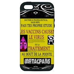 Ronald Story Vaccine Mrtacpans Apple Iphone 5 Hardshell Case (pc+silicone)
