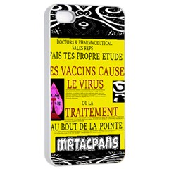 Ronald Story Vaccine Mrtacpans Apple Iphone 4/4s Seamless Case (white)