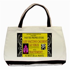 Ronald Story Vaccine Mrtacpans Basic Tote Bag (two Sides)