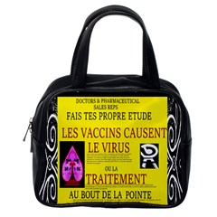 Ronald Story Vaccine Mrtacpans Classic Handbag (one Side)