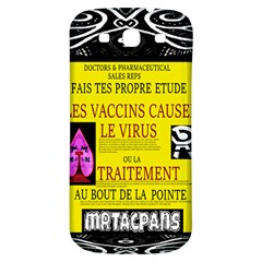 Ronald Story Vaccine Mrtacpans Samsung Galaxy S3 S Iii Classic Hardshell Back Case by MRTACPANS