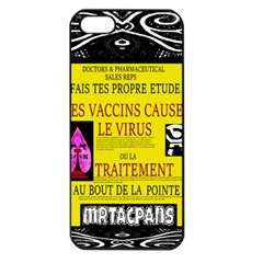 Ronald Story Vaccine Mrtacpans Apple Iphone 5 Seamless Case (black)