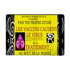 Ronald Story Vaccine Mrtacpans Apple Ipad Mini Flip Case