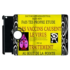 Ronald Story Vaccine Mrtacpans Apple Ipad 2 Flip 360 Case
