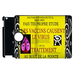 Ronald Story Vaccine Mrtacpans Apple Ipad 3/4 Flip 360 Case