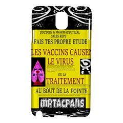 Ronald Story Vaccine Mrtacpans Samsung Galaxy Note 3 N9005 Hardshell Case by MRTACPANS