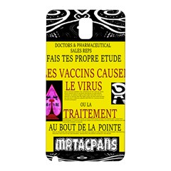 Ronald Story Vaccine Mrtacpans Samsung Galaxy Note 3 N9005 Hardshell Back Case