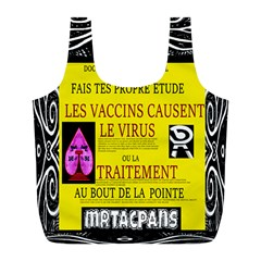 Ronald Story Vaccine Mrtacpans Full Print Recycle Bag (l)