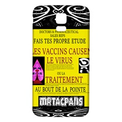 Ronald Story Vaccine Mrtacpans Samsung Galaxy S5 Back Case (white)