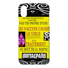 Ronald Story Vaccine Mrtacpans Apple Iphone X Hardshell Case