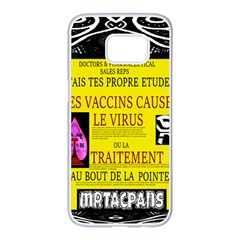 Ronald Story Vaccine Mrtacpans Samsung Galaxy S7 Edge White Seamless Case