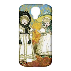 Little Victorian Girls Samsung Galaxy S4 Classic Hardshell Case (pc+silicone) by snowwhitegirl