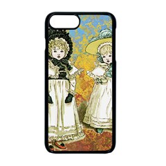 Little Victorian Girls Apple Iphone 8 Plus Seamless Case (black)