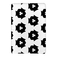 Black And White Pattern Samsung Galaxy Tab Pro 10 1 Hardshell Case