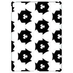 Black And White Pattern Apple Ipad Pro 12 9   Hardshell Case