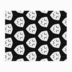Black And White Small Glasses Cloth (2 Side)
