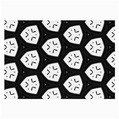 Black And White Large Glasses Cloth (2 Side)
