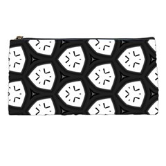 Black And White Pencil Cases by Simbadda