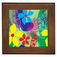 Decoration Decor Pattern Framed Tiles