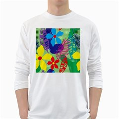 Decoration Decor Pattern Long Sleeve T Shirt by Simbadda