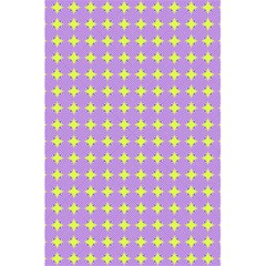 Pastel Mod Purple Yellow Circles 5 5  X 8 5  Notebook by BrightVibesDesign